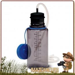 filtre Charbon actif polyvalent filtre eau portable Katadyn. charbon actif permet de réduire mauvais gouts
