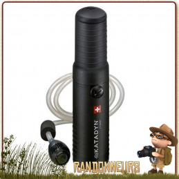 filtre katadyn combi plus portable pour la filtration de l'eau potable en trek par cartouche céramique et charbon actif