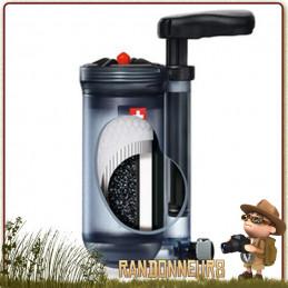 filtre hiker pro katadyn, portable, filtration efficace de micro organismes et sédiments avec le filtre katadyn hiker pro