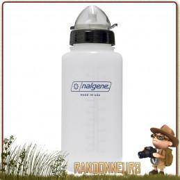 Gourde Sport Nalgene ATB 2 100 cl. bouteille Nalgene LDPE sans BPA, ultra légère, adaptée à la course, marche à pieds et trail