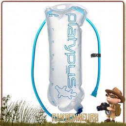 sac hydratation HOSER 3 Litres Platypus hydratation ultra-léger s'intègre dans poche sac à dos randonnée légère