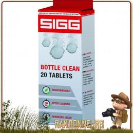 Tablettes de Nettoyage SIGG pour gourde, cachets effervescents de détartrage et désinfection de bouteille