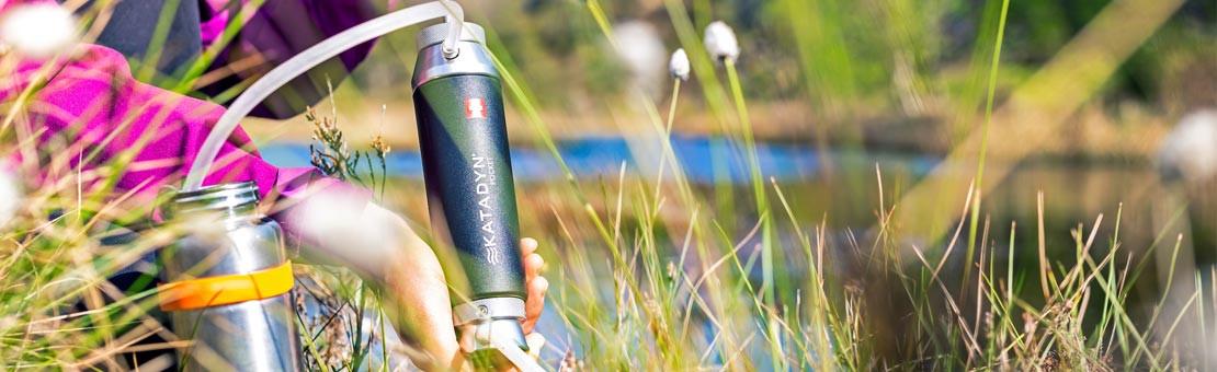 Filtre Pocket Katadyn, le filtre pour le trek nomade et aventures au bout du monde