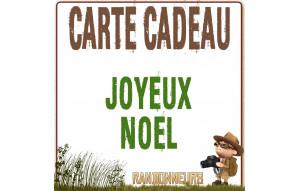 Carte Cadeau JOYEUX NOEL