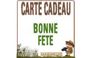 Carte Cadeau BONNE FETE